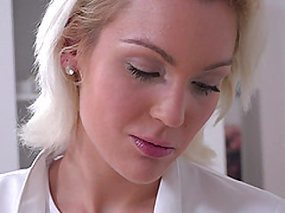 Cecilia Scott seduced by two lovers for a great hospital threesome