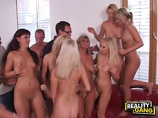 Insane Orgy With Naughty Teens And Their Wet Pussies